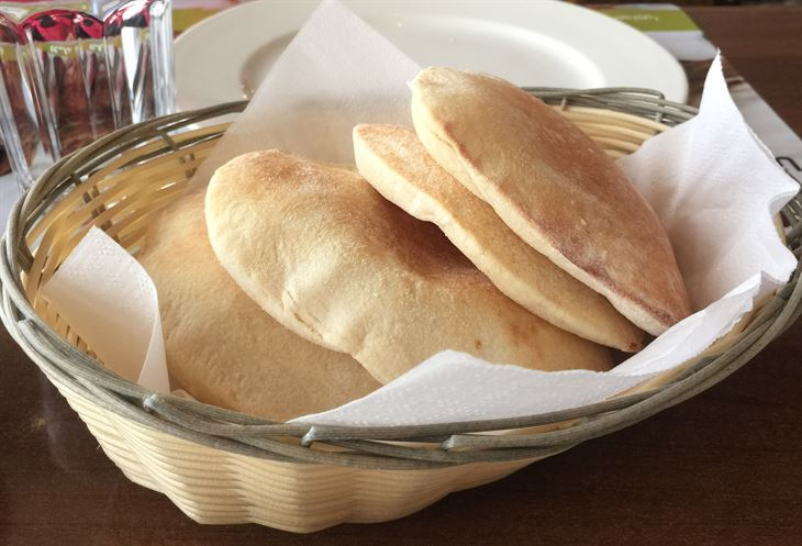 Fresh Lebanese bread