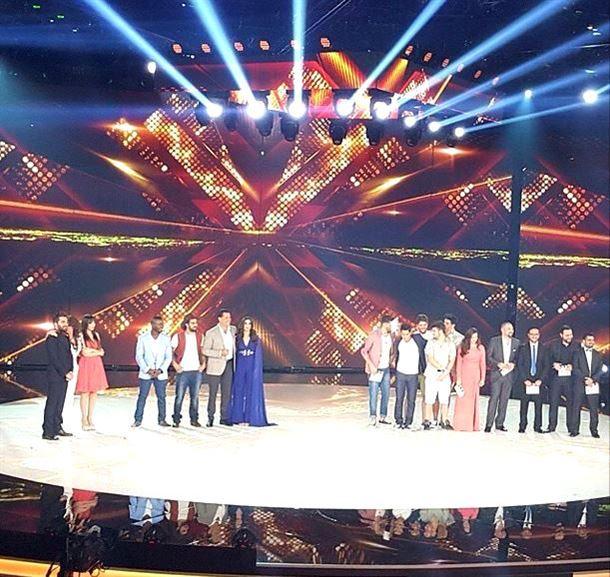 المشتركون والحكام قبل اعلان النتائج