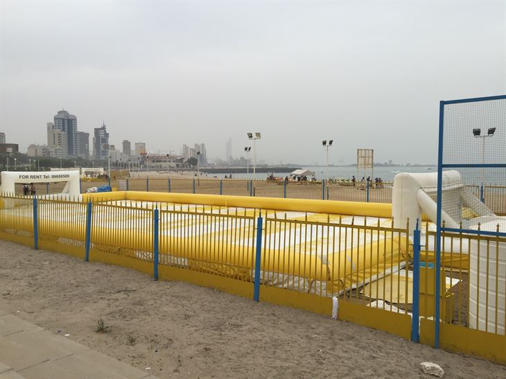 Soap Playground on the Arabian Gulf road