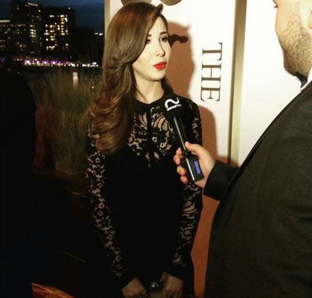 Nancy Ajram's look at BIAF 2015