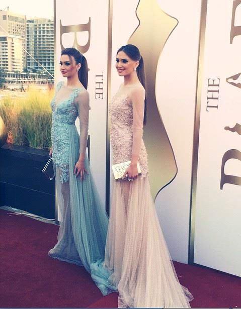الجميلتان رينا ورومي شيباني