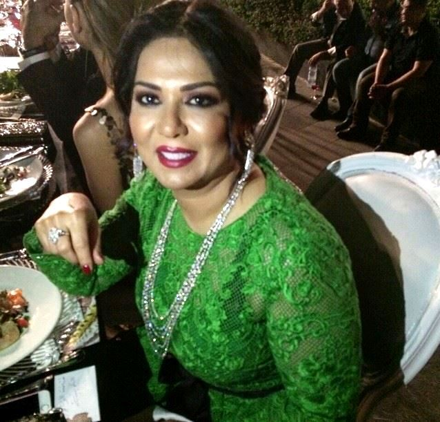 Nawal Al Kuwaitiya during BIAF Event