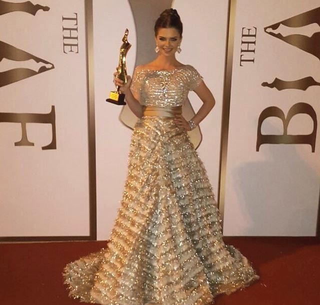 Turkish Actress Pelin Karahan at BIAF 2015