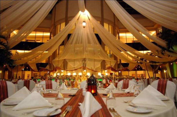 اجواء رمضان في مطعم سيكس بالمز 6 Palms في فندق المارينا