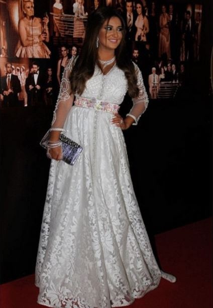 Shaza Hassoun at the Murex D'or