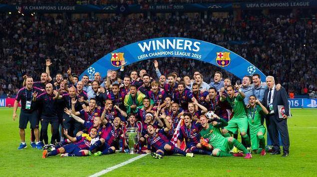 نادي برشلونة بطلاً لدوري أبطال أوروبا للعام 2015