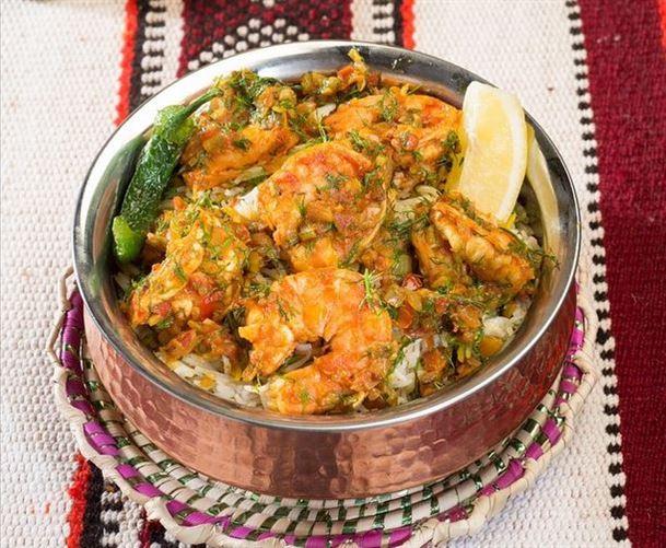 مربين - طبق كويتي تقليدي من الروبيان الطازج