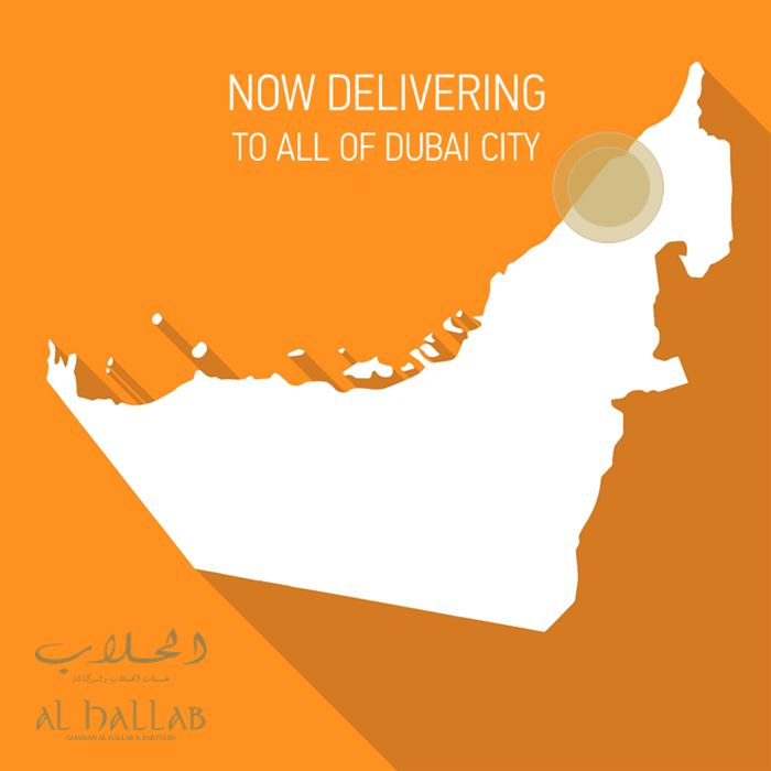 Al Hallab restaurant ... now delivering to all of Dubai