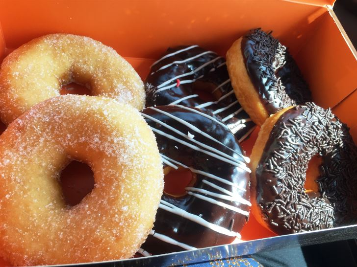Donuts from La Baguette