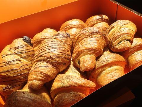 Croissants from La Baguette