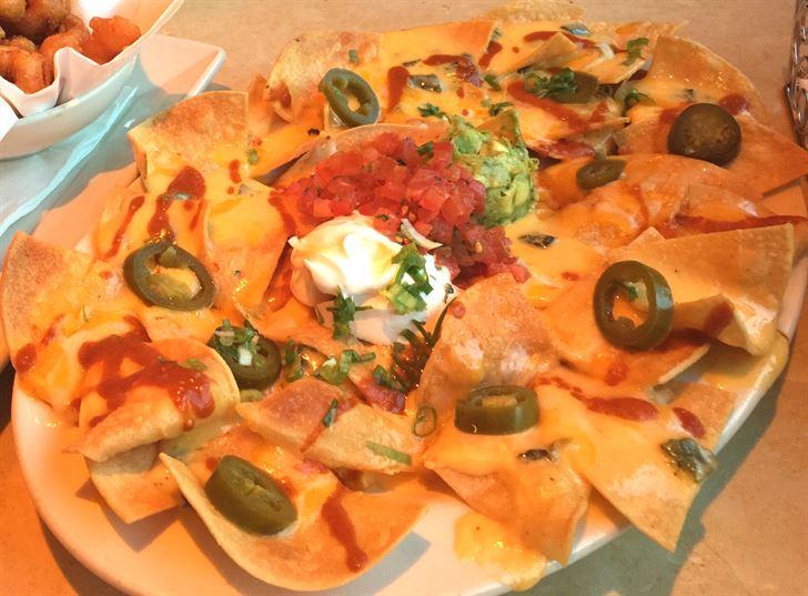 Nachos Factory appetizer dish