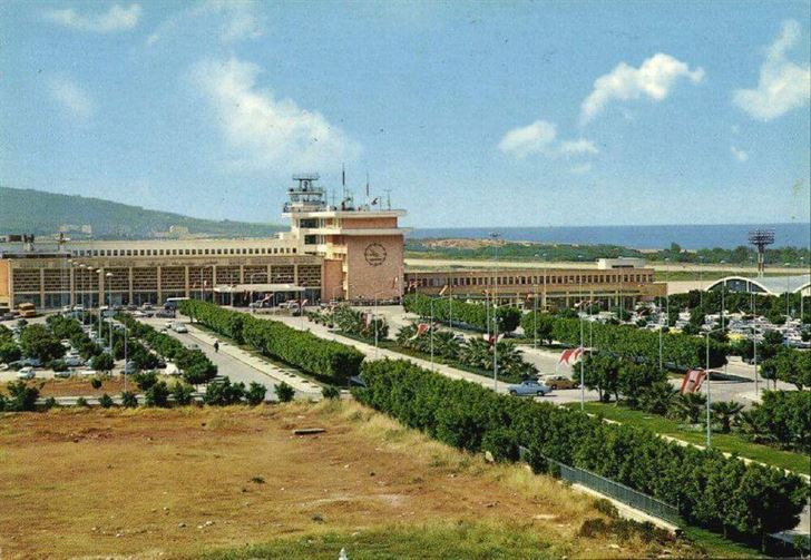 Beirut International Airport in 1969