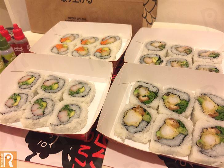 أروع سوشي من مطعم فينجر سوشي