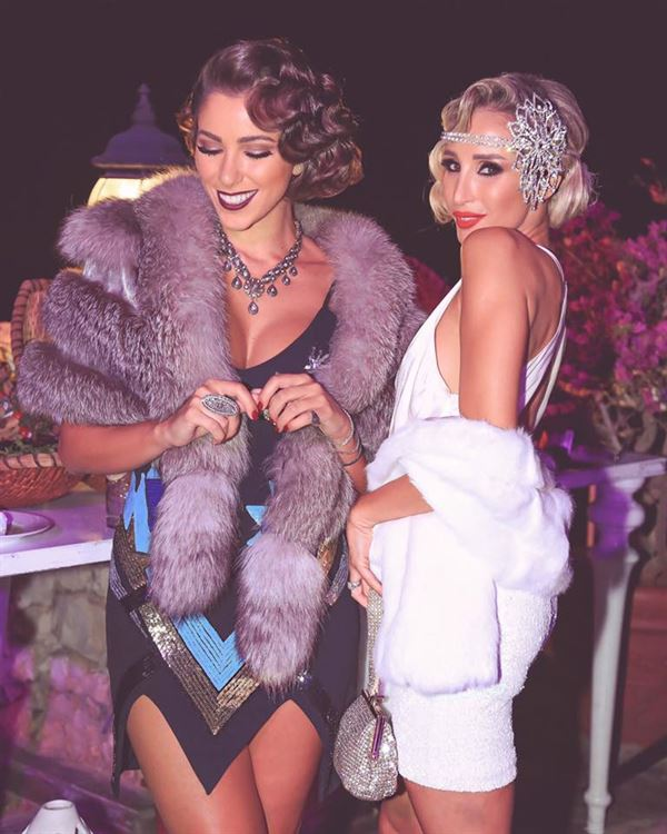 Daniella Rahme 1920s Gatsby Birthday Party