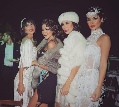 Daniella Rahme 1920s Gatsby Birthday Party