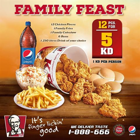 KFC Family Feast Offer
