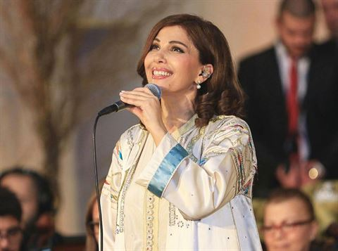Majida El Roumi in Kuwait on January 20th 2017