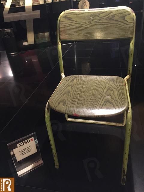 كرسي من سينما حولي الصيفي وتعود للعام 1950