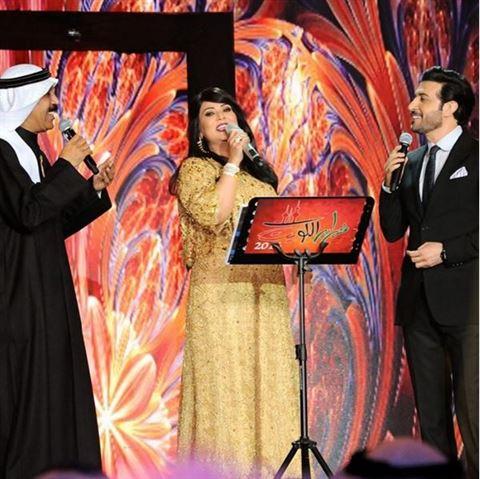اطلالة المطربة نوال الكويتية في مهرجان هلا فبراير