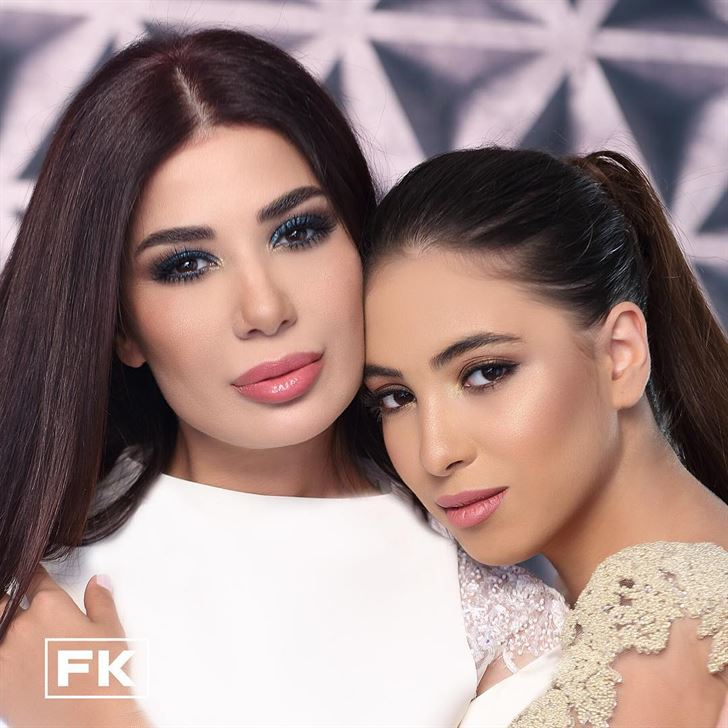 Nancy Yassine and her daughter
