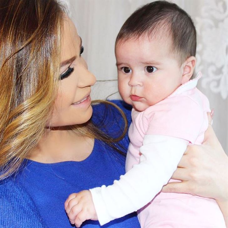 Carole Samaha and daughter Tala