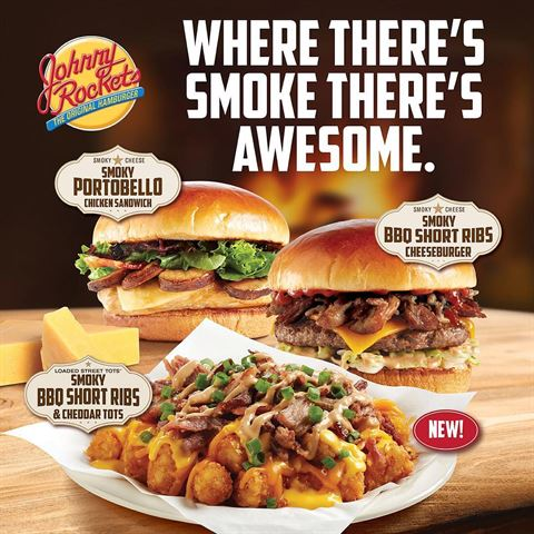 Johnny Rockets New Smokey Meals