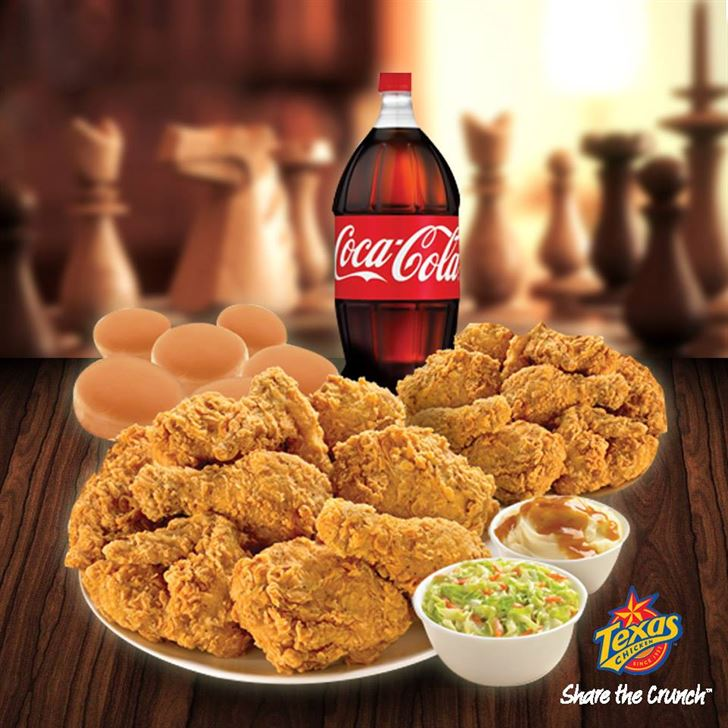 Texas Chicken Family meals