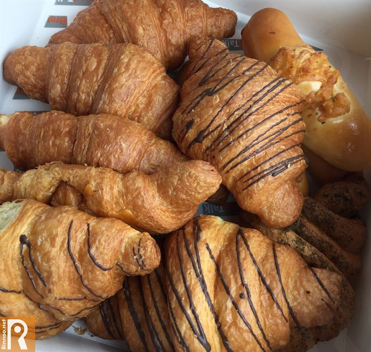 Variety of BreadTalk Croissants
