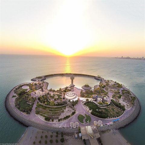 Photo 17275 on date 30 March 2016 - Green Island - Kuwait
