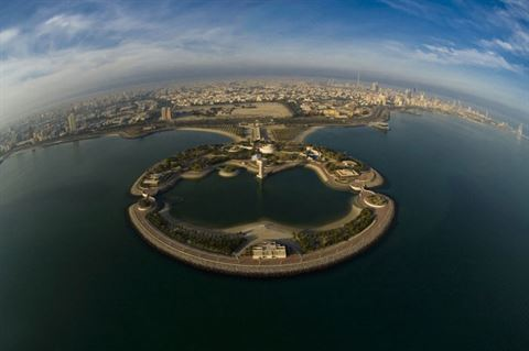 Photo 17281 on date 30 March 2016 - Green Island - Kuwait