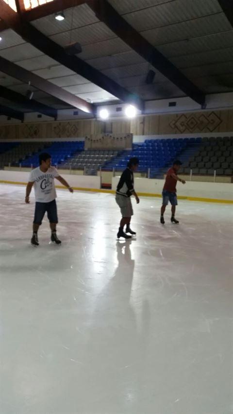 الصورة 17283 بتاريخ 30 مارس 2016 - صالة التزلج - الكويت