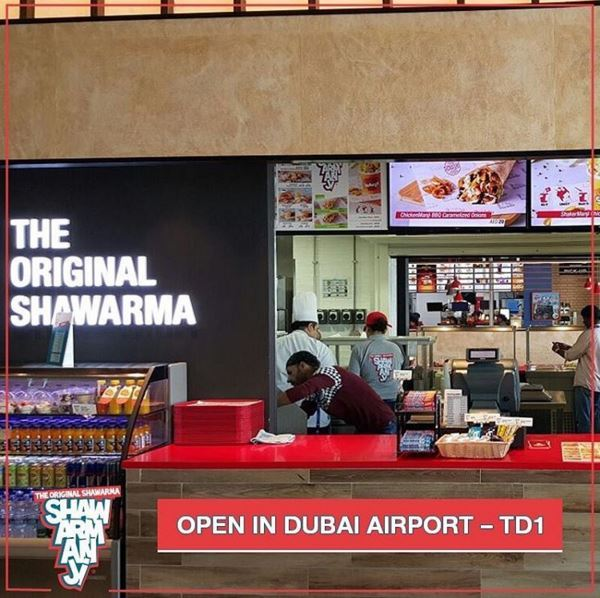 Shawarmanji's 2nd branch in Dubai Airport now open