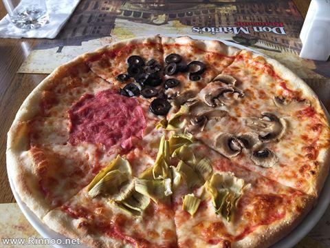 بيتزا كواترو ستاغيوني