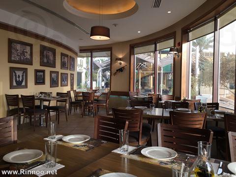 جزء من مطعم دون ماريوز من الداخل
