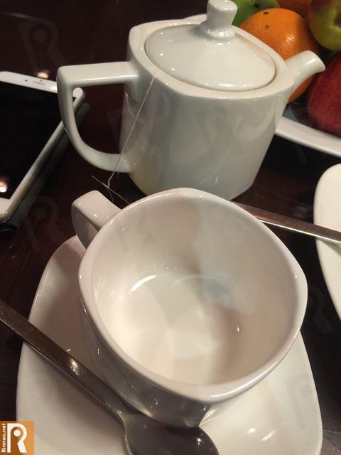 شاي بعد الغداء