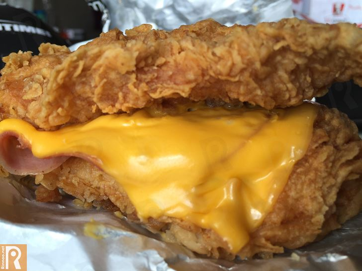 KFC Double Down and Quad Wrap Review