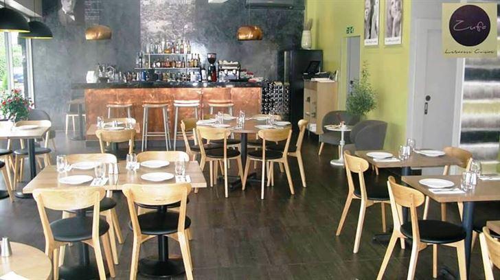 Details about Zufa Lebanese restaurant in London