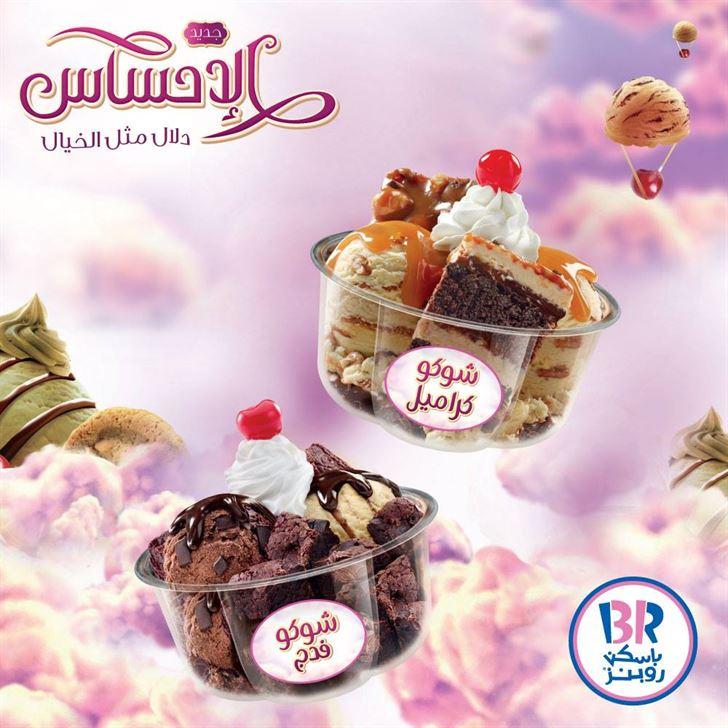 Baskin Robbins New Choco Caramel and Choco Fudge