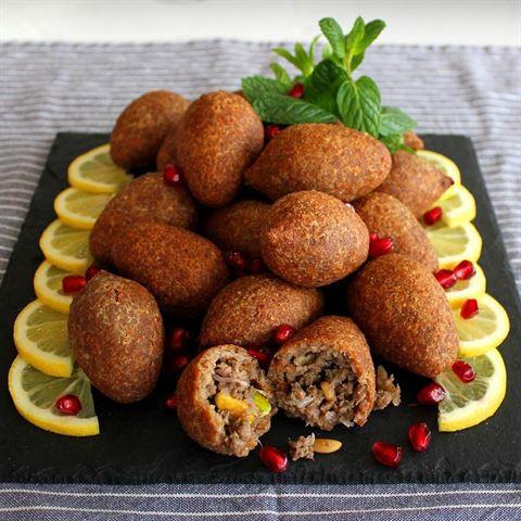 Fried Kibbeh