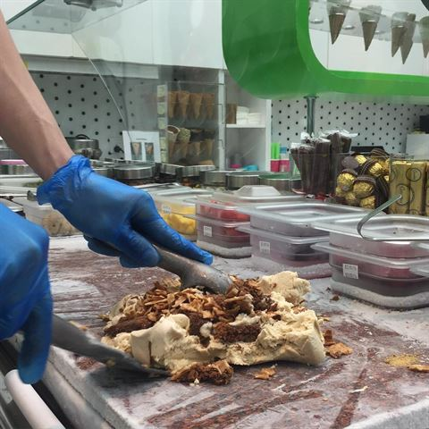 Photo 21142 on date 30 April 2016 - Marble Slab Creamery - Jahra (Awtad) Branch - Kuwait