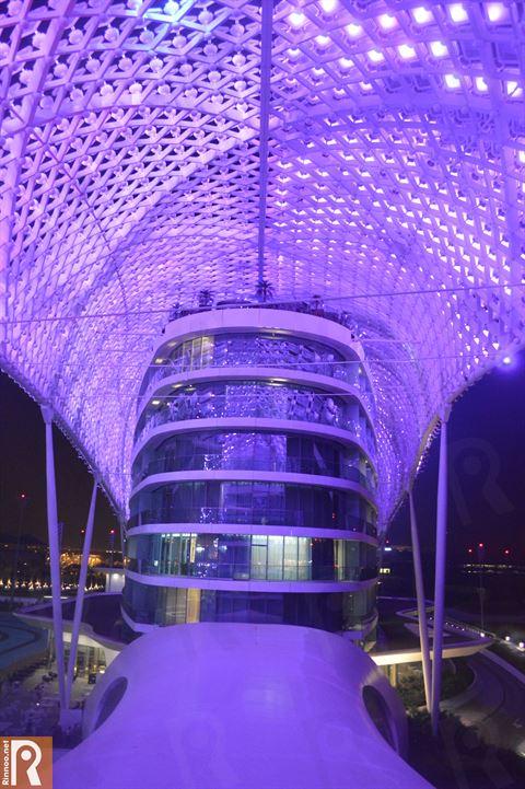 Yas Viceroy Abu Dhabi Hotel Unique Design