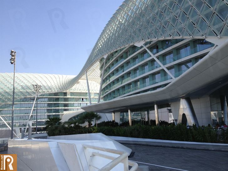 Yas Viceroy Abu Dhabi Hotel Unique Design