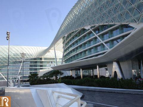 تصميم فندق ياس ڤايسروي أبوظبي المميز