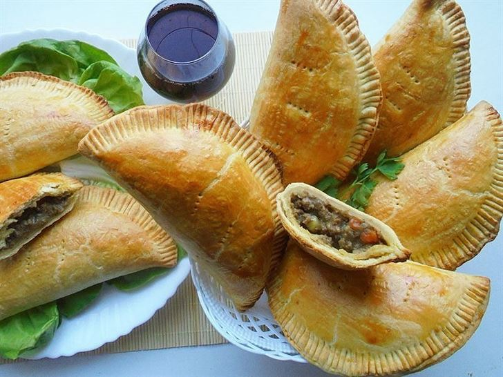 Golden Brown meat pies