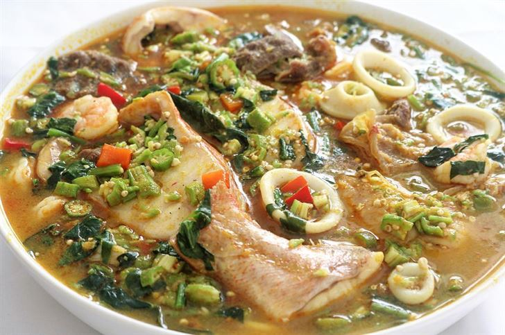 Okro Soup with Fish