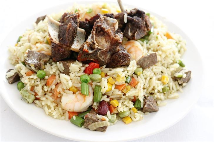 Nigerian party fried rice