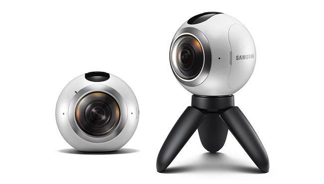 مواصفات كاميرا الواقع الإفتراضي الكروية سامسونج جير 360