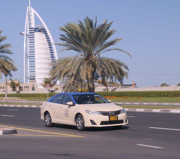 أرقام شركات تاكسي في دبي