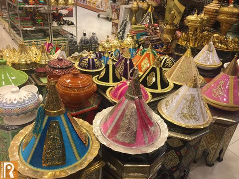 Moroccan products in True Value Store