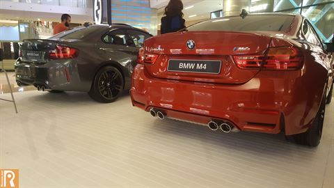 BMW M2 Coupe and M4